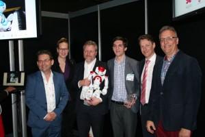 ZORA de zorgrobot wint de zorginnovatie start-up award