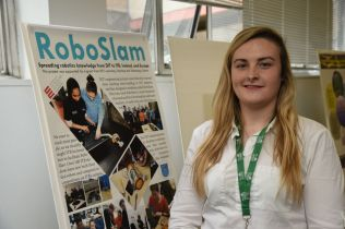 Claragh at Living Knowledge conference poster