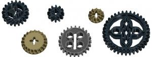 Шестерни конструктора Lego mindstorms