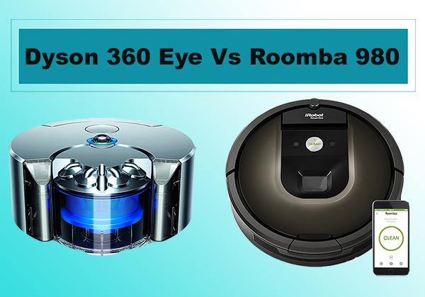 Dyson 360 Eye Vs Roomba 980