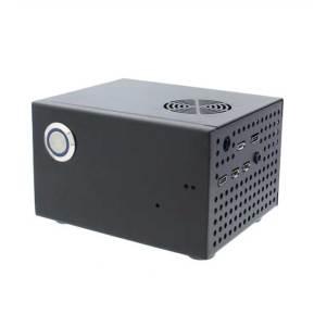 Metalen behuizing voor Raspberry Pi 4B + SSD + X825 + X735