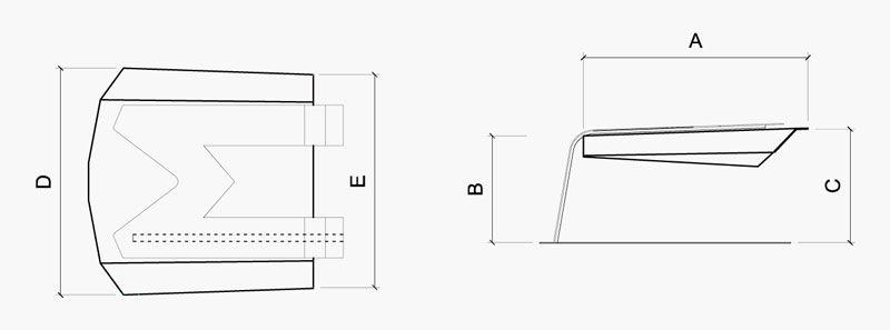 Caseta IdeaMower Air Dimensiones