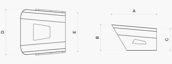 Caseta IdeaMower Neo Dimensiones