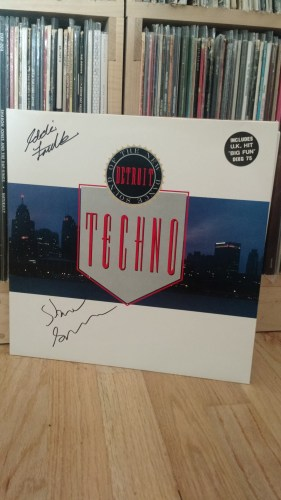 Signed by Eddie Fowlkes & Kevin Saunderson