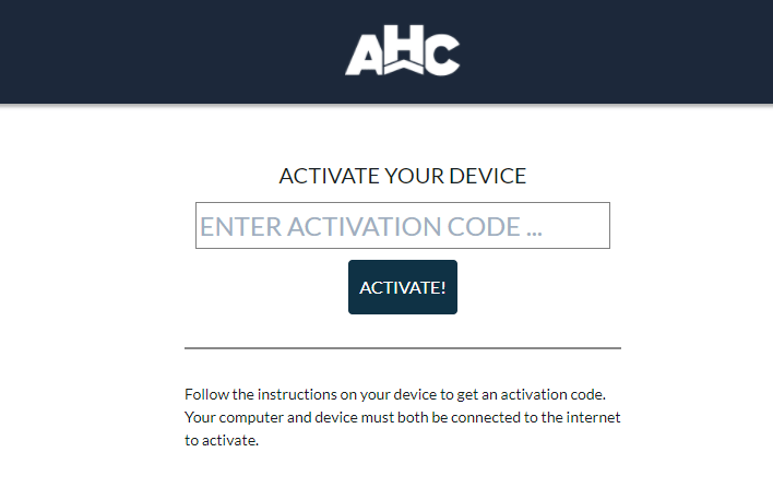 AHC Activate