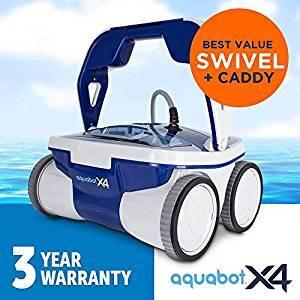 Aquabot X4 Robotic Pool Cleaner Review