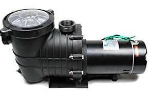 TruSonik High-Performance Swimming Pool Pump – 2HP 110V Pool Pump – 111GPM Pool Filter – Stainless Steel Motor Drive Shaft – Works with Inground and Above Ground Pools