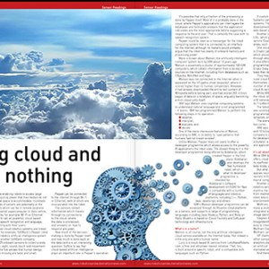 sensor readings magazine, feature, cloud computing