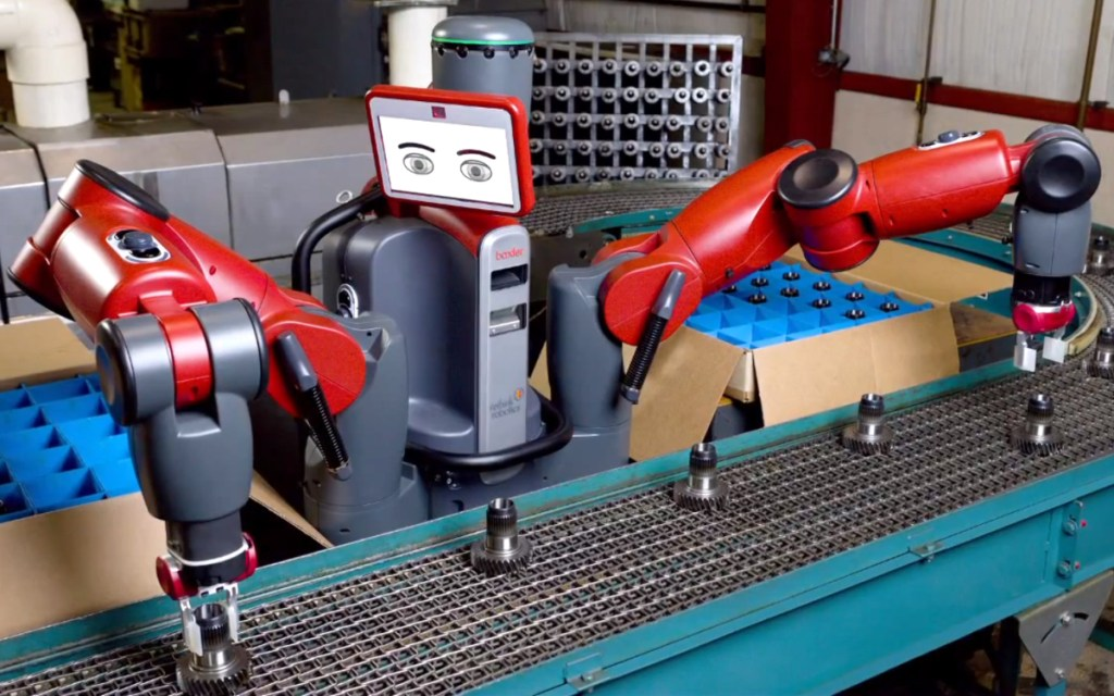 Two-armed robots: Baxter helps Stenner meet increased demand
