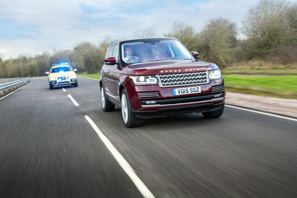 Jaguar Land Rover to road test future technology on UK's first 'connected corridor'