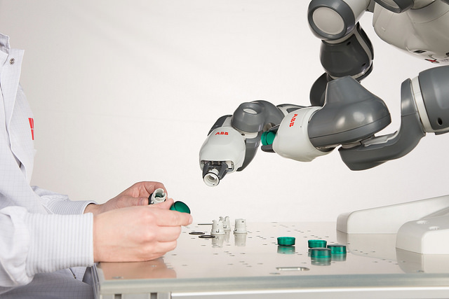 Sony becomes first UK buyer of YuMi, as ABB launches its first Scara robots