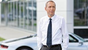 Dirk Lappe, technical director, Porsche