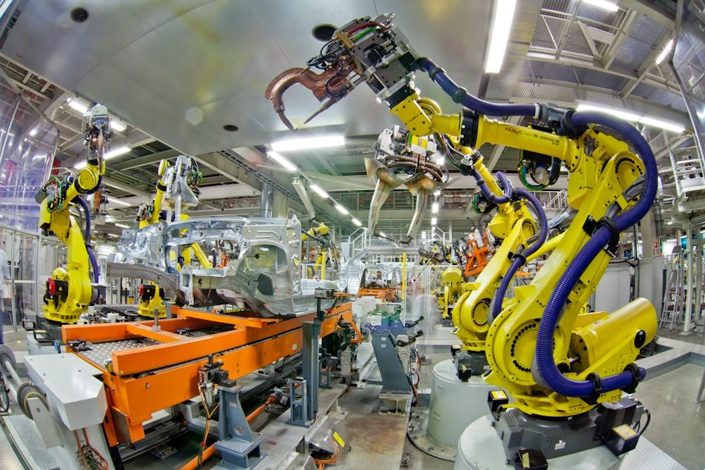 Demand for industrial robots to treble in automotive industry