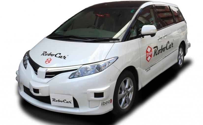 ZMP starts taking orders for autonomous car