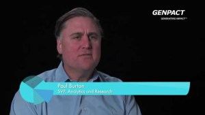 Paul Burton, senior vice president, analytics and research