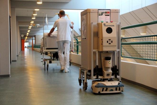 aethon logistics robot
