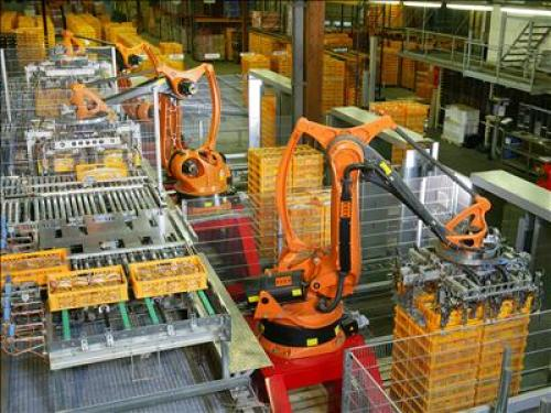 imeche Factory_Automation_Robotics_Palettizing_Bread