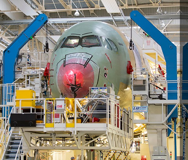 Airbus and Renishaw team up to develop 'innovative design approach to meet future demand for new aircraft'