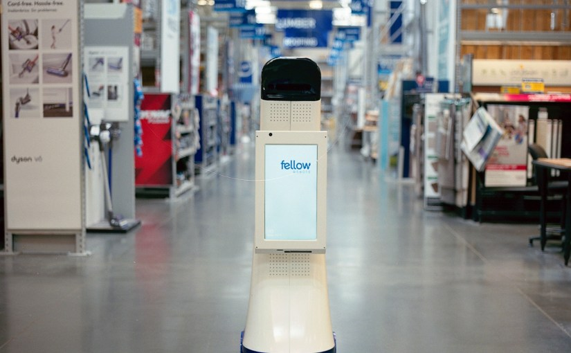 Lowe's store bosses hire Fellow robot workers