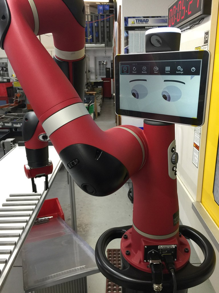 Rethink Robotics presents new features for collaborative robot Sawyer