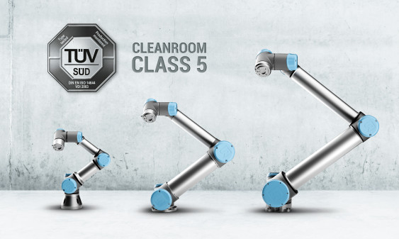 Universal Robots now certified for applications in cleanroom environments
