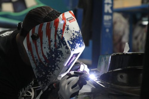 lincoln-electric-welding_with_viking_helmet_at_inside_west_coast_customs