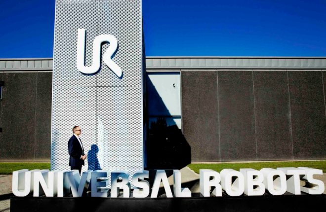 Jürgen von Hollen, the new president of Universal Robots