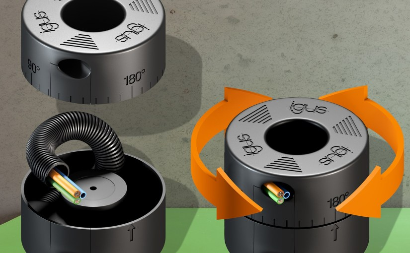 Igus launches 'extremely compact rotation module' for tight spaces
