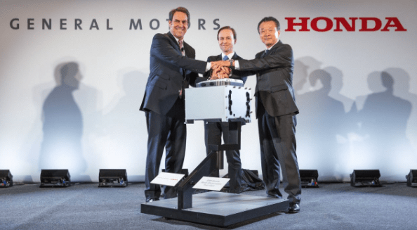 General Motors and Honda to jointly develop hydrogen fuel cell for autonomous vehicles