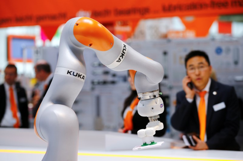 US approves Midea takeover of Kuka. Reuters/Wolfgang Rattay