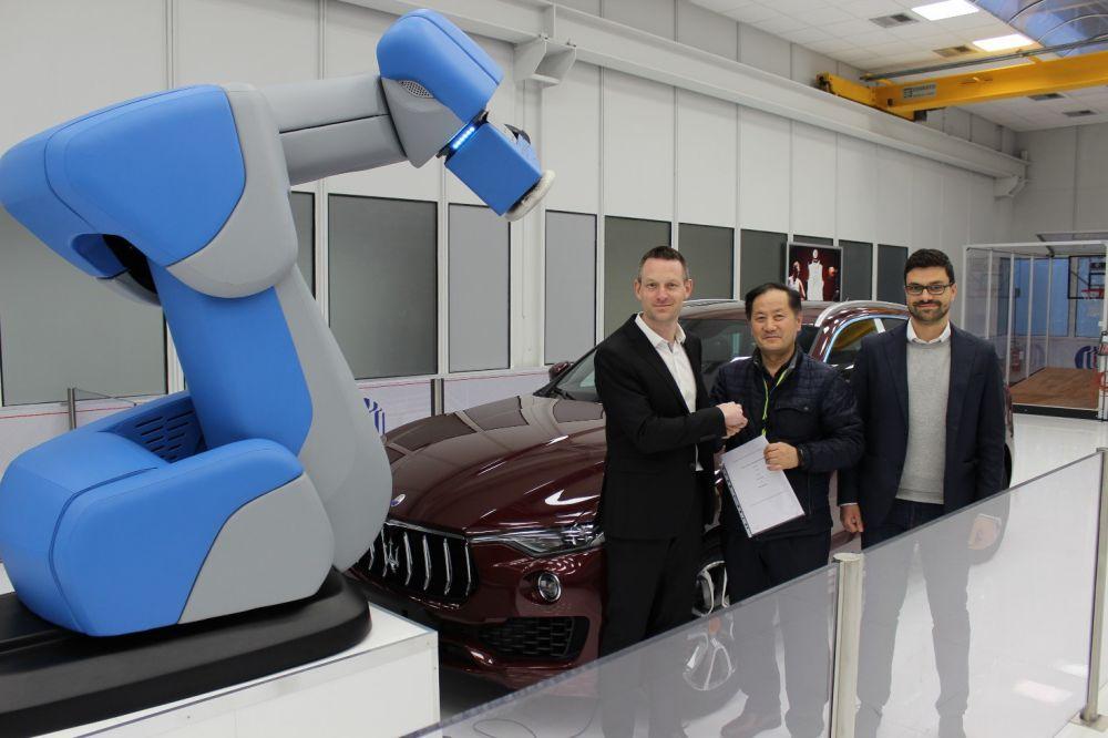 Comau agrees new distribution partnership with South Korean company