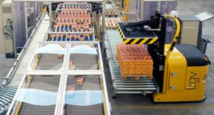 Skilled Group palletising systems
