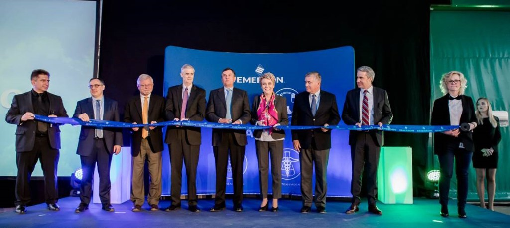 Emerson inaugurates Polish manufacturing facility