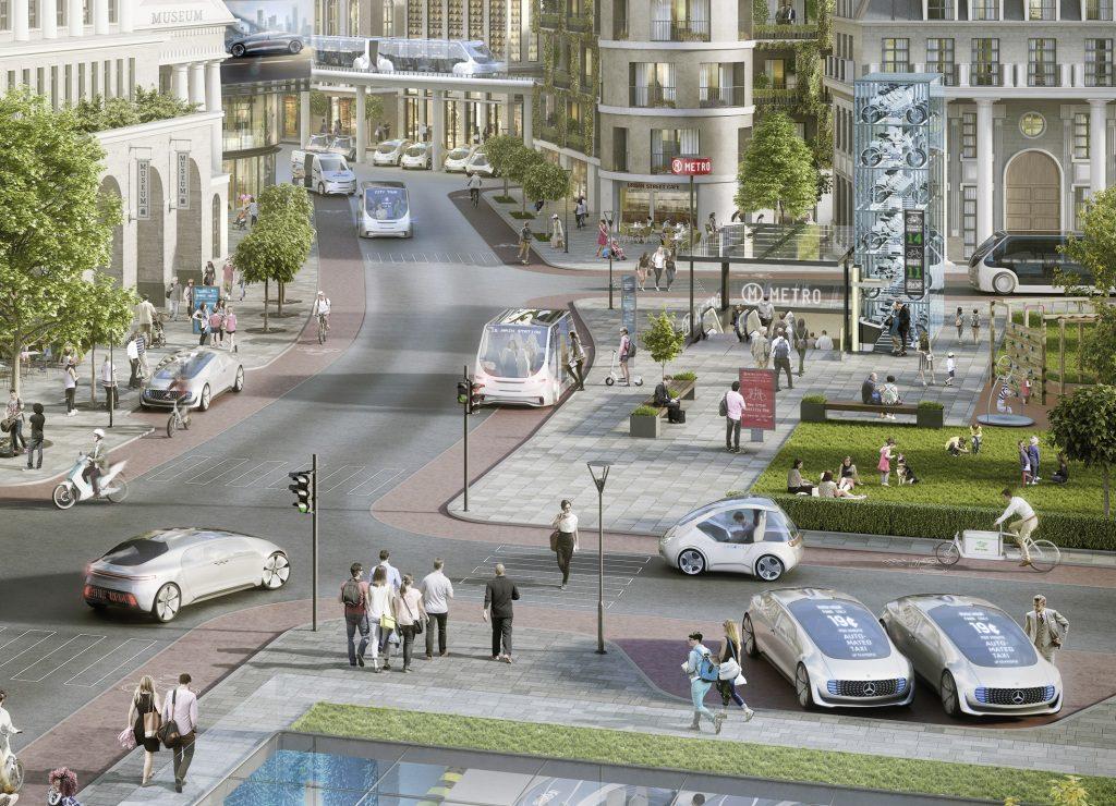 daimler driverless cars