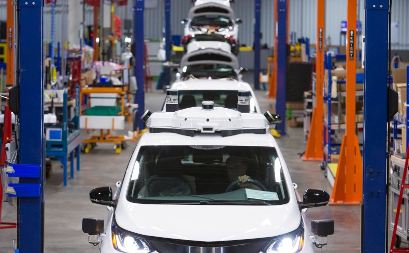 General Motors produces new fleet of self-driving Chevrolet Bolt EV test vehicles