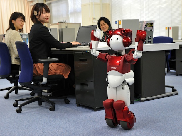 Opinion: How assistive robots will transform the workplace and elderly care