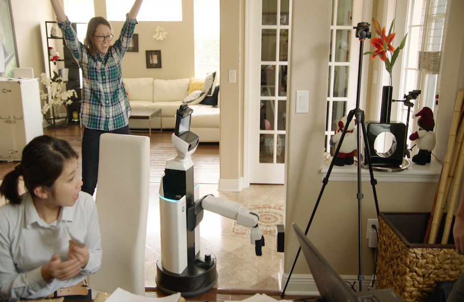 Toyota demonstrates 'human service robot' of a type that may take over a lot of homes