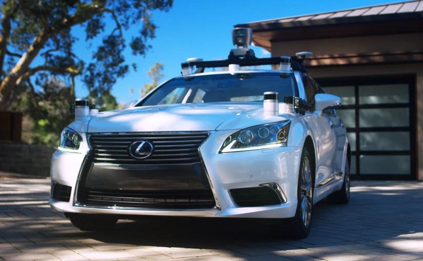 Toyota showcases its new advanced autonomous car platform to Boston robotics community