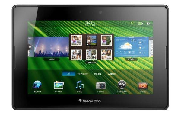 blackberry 7 inch tablet screen