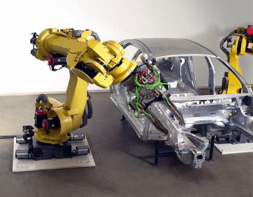 fanuc spot welding robot