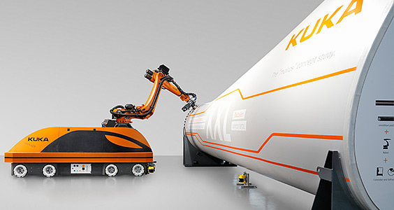 kuka coating robot