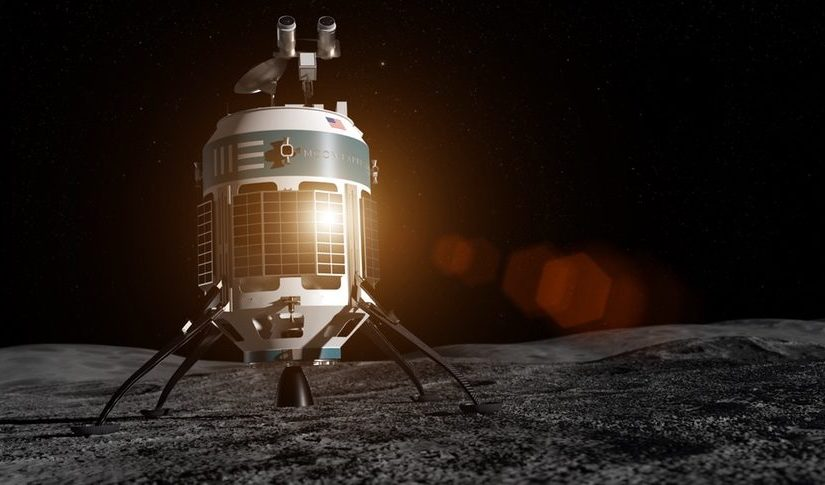 Startup robots choose to go to the moon and mine it for minerals to sell to humans back on Earth