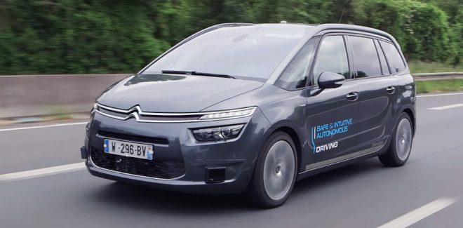 peugeot autonomous car