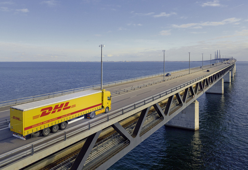 DHL could stop Amazon from taking over the world. Probably