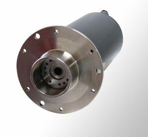 Baumüller's 'starwheel' column motor