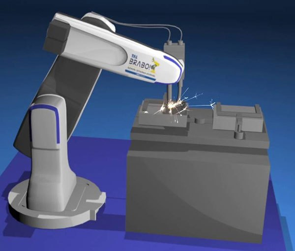 TAL unveils welding solution involving its Brabo industrial robot