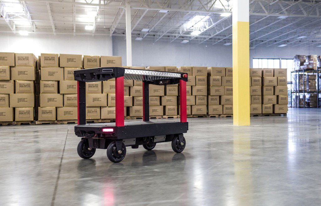 Canvas Technology launches 'world's first self-driving carts' for factories and warehouses