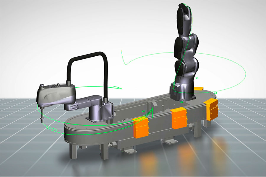 B&R adds optimized engineering to 3D SuperTrak simulation