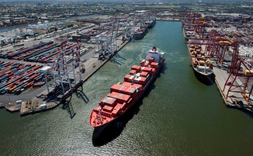'World's first' fully automated port terminal opens in Melbourne