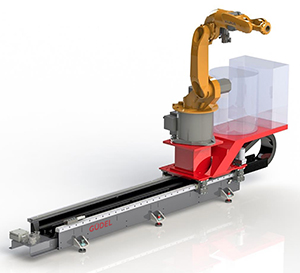 Güdel launches 'pre-configured' track-based robotic welding solution